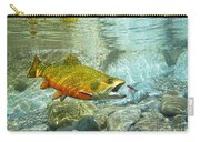 Brook Trout And Silver Doctor Carry-all Pouch