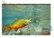 Brookie With Wet Fly Carry-all Pouch