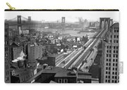 Brooklyn And Manhattan Bridges Carry-all Pouch