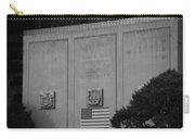 Brooklyn Battery Tunnel In Black And White Carry-all Pouch