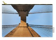 Brooklyn Bridge Abstract Carry-all Pouch