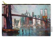 Brooklyn Bridge And Twin Towers Carry-all Pouch