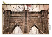 Brooklyn Bridge Approach Carry-all Pouch
