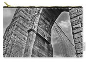 Brooklyn Bridge Arch - Vertical Carry-all Pouch