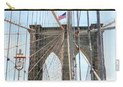 Brooklyn Bridge Cables Carry-all Pouch