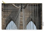 Brooklyn Bridge Cables Nyc Carry-all Pouch