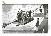 Brooklyn Bridge Construction, 1876 Carry-all Pouch