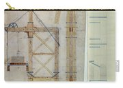Brooklyn Bridge: Diagram Carry-all Pouch by Granger