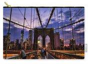 Brooklyn Bridge Evening Carry-all Pouch