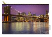 Brooklyn Bridge Carry-all Pouch by Inge Johnsson