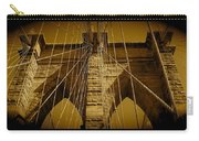 Brooklyn Bridge Carry-all Pouch