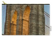 Brooklyn Bridge Tower Carry-all Pouch