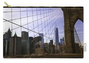 Brooklyn Bridge View Carry-all Pouch