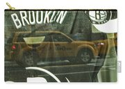 Brooklyn Nets Carry-all Pouch by Karol Livote
