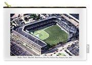 Brooklyn - New York - Flatbush - Ebbets Field - 1940 Carry-all Pouch