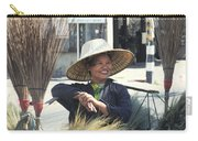 Broom Seller  Carry-all Pouch