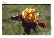 Brown And Yellow Iris Carry-all Pouch