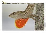 Brown Anole II Carry-all Pouch