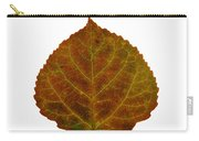 Brown Aspen Leaf 2 Carry-all Pouch