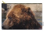 Brown Bear Bathing Carry-all Pouch