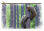 Brown Bear Climbing Lesson Carry-all Pouch