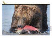 Brown Bear Ursus Arctos Feeding Carry-all Pouch