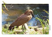 Brown Bird Carry-all Pouch