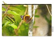 Brown Butterfly 2 Carry-all Pouch