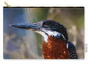 Brown Crested Kingfisher Carry-all Pouch