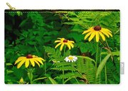 Brown-eyed Susans Along Rivier Du Nord Trail In The Laurentians-quebec Carry-all Pouch