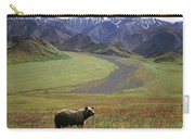Brown Grizzly Bear In Denali National Carry-all Pouch