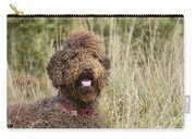 Brown Labradoodle In Field Carry-all Pouch