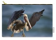 Brown Pelican Flying California Carry-all Pouch