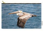 Brown Pelican Flying Carry-all Pouch