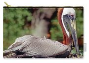 Brown Pelican Incubating Eggs Carry-all Pouch