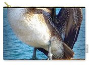 Brown Pelican Preen  Carry-all Pouch