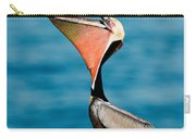 Brown Pelican Showing Pouch Carry-all Pouch