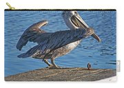Brown Pelican Takes Flight Carry-all Pouch
