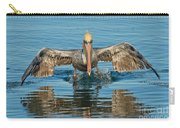 Brown Pelican Taking Off Carry-all Pouch