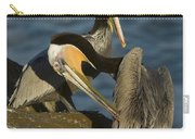 Brown Pelicans Carry-all Pouch
