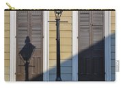 Brown Shutter Doors And Street Lamp - New Orleans Carry-all Pouch