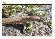 Brown Snake Carry-all Pouch
