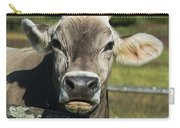 Brown Swiss Cow Carry-all Pouch