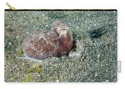 Brownstripe Octopus Burying Itself Carry-all Pouch