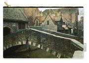 Bruges Canal Bridge Carry-all Pouch