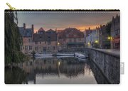 Bruges Canal Dawn Carry-all Pouch