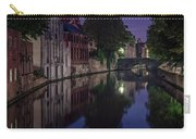 Bruges Canal Near Blind Donkey Alley  Carry-all Pouch