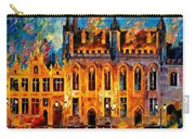 Bruges Carry-all Pouch by Leonid Afremov