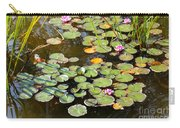 Bruges Lily Pond Carry-all Pouch by Carol Groenen