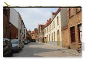 Bruges Side Street Carry-all Pouch by Carol Groenen